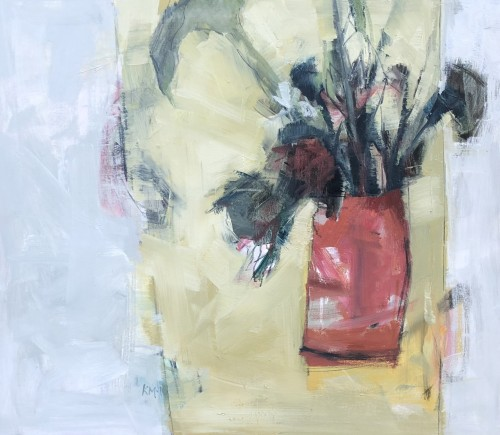 Kathy Montgomery, Red Vase (London Gallery)