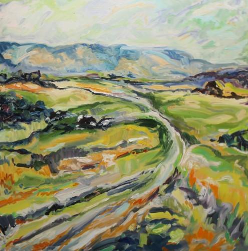 Fi Katzler, South Downs Way (London Gallery)