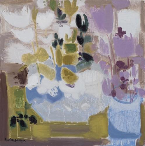 Annabel Fairfax, Bowl of Cyclamen (London Gallery)