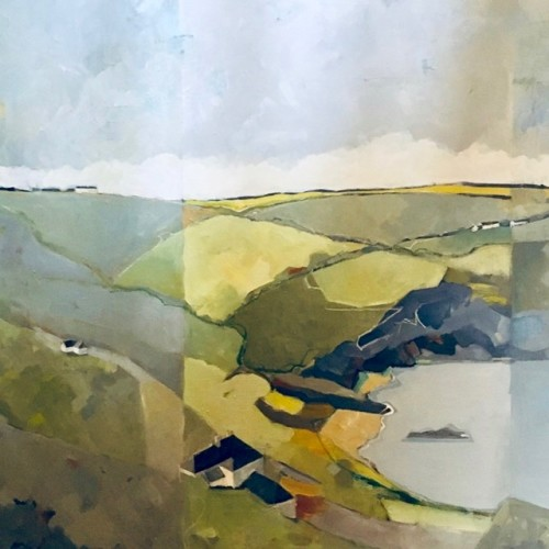 Angela Wilson, St Just, Cornwall (Hungerford Gallery)
