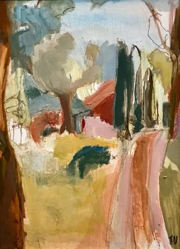 Jo Vollers, Drive to the Villa Le Marche