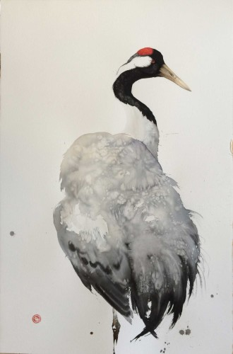 Crane (Framed) (Hungerford Gallery)
