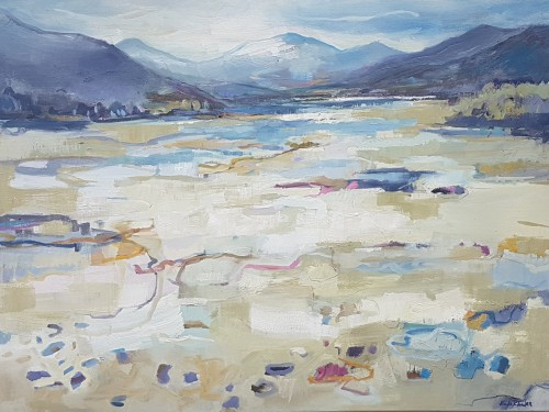 Kate Rhodes, The Beach, Loch Lagan (Hungerford Gallery)