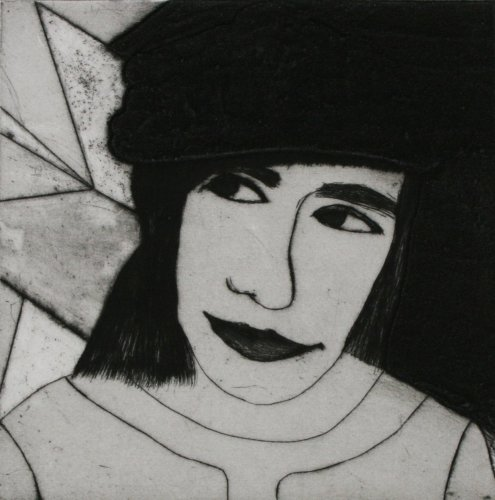 Kate Boxer, Lyubov Popova (Mounted)