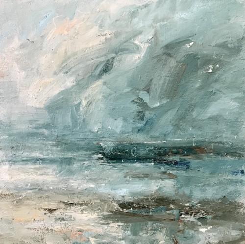Louise Balaam, Dark Turquoise and Deep Cloud (London Gallery)