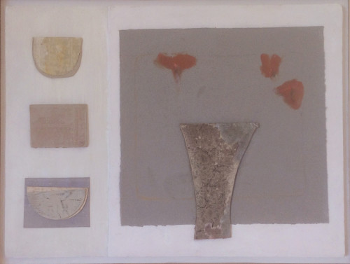 Colin Williams, Relief Painting with Vase (Hungerford Gallery)
