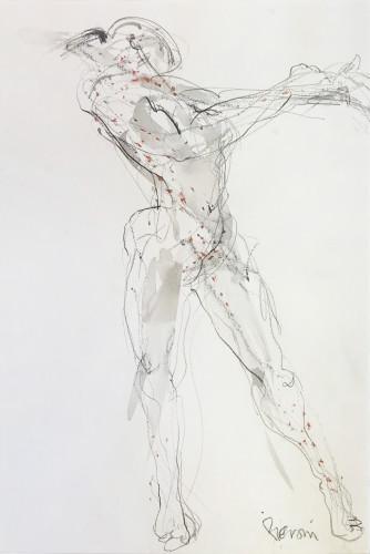 Bella Pieroni, Dancing Woman (Mounted ) (Hungerford Gallery)