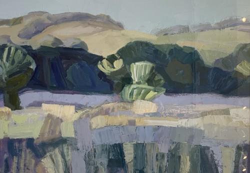 Minnie Shaw Stewart, Baydon, Lambourn Down II (Hungerford Gallery)