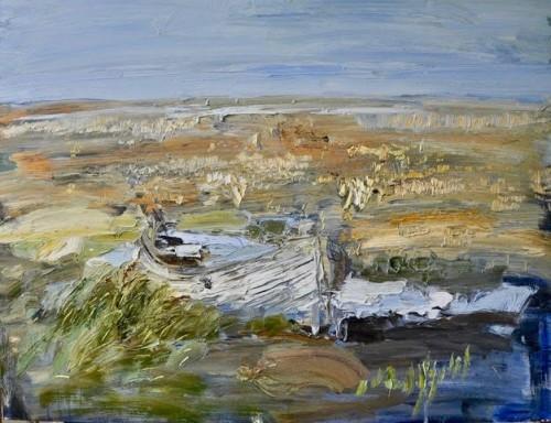 Richard Colson, Blakeney Marshes (London Gallery)