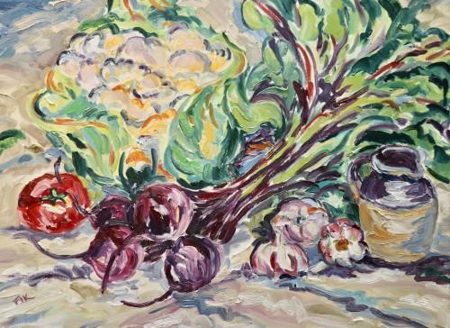 Fi Katzler, Autumn Harvest (Hungerford Gallery)