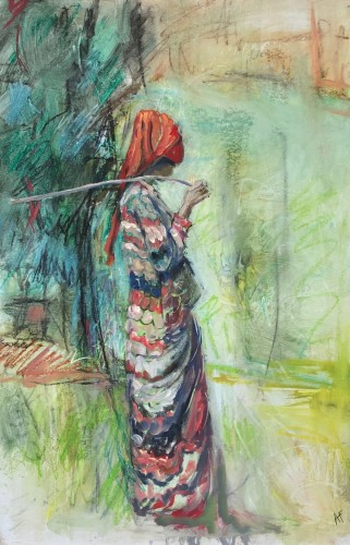 Annie Field, Amhara Goatherder (Hungerford Gallery)