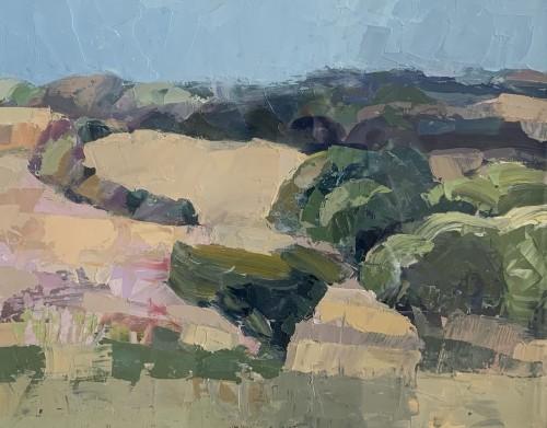 Minnie Shaw Stewart, Across the Downs (London Gallery)