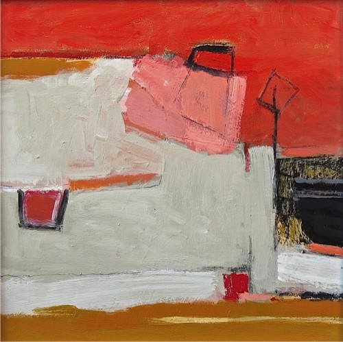 Malcolm Taylor, Red Sky at Night (London Gallery)