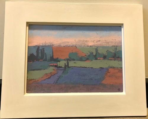 Hermione Owen, Linseed Fields France (Hungerford Gallery)