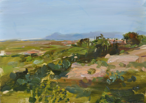 Richard Colson, House in the Hills, Pollenca (Hungerford Gallery)