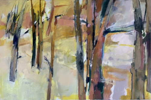 Margaret Devitt, In a Yellow Wood (Hungerford Gallery)