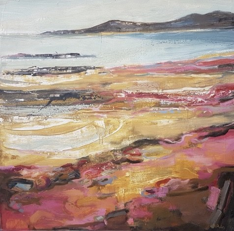 Kate Rhodes, Red Beach (Hungerford Gallery)