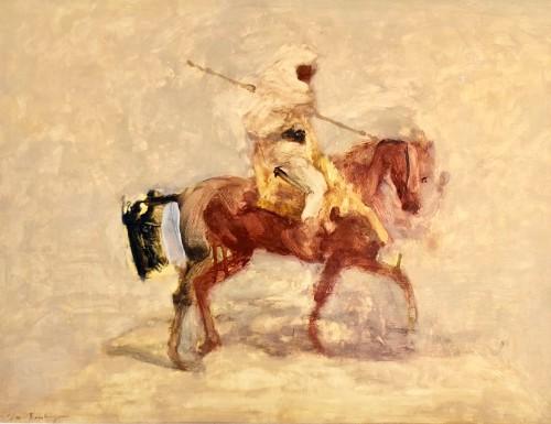 Antoine de La Boulaye, Orientialist Horseman III (London Gallery)