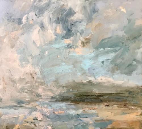 Louise Balaam, Pale Turquoise, Shieldaig (London Gallery)