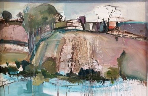 Jo Vollers, Above the River Otter (Hungerford Gallery)