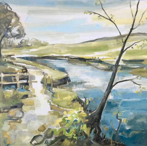 Kate Rhodes, Spring in the Air (Hungerford Gallery)