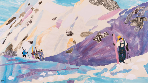 Dione Verulam, Climbing for the Powder (London Gallery)