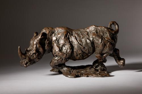Jane Shaw, Freedom - Charging White Rhino