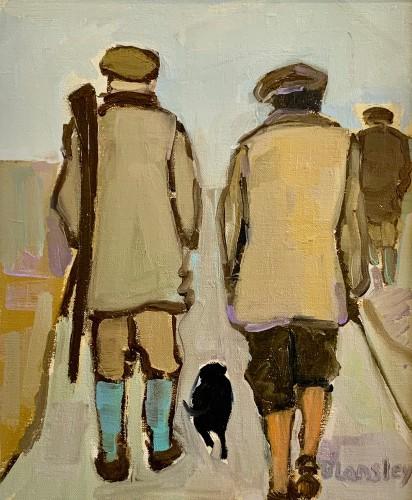 Bridget Lansley, In Conversation II (Hungerford Gallery)