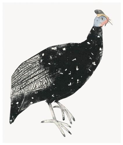 Guinea Fowl (Unframed)