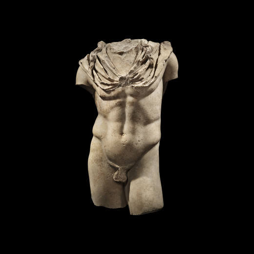 Roman Torso of a God