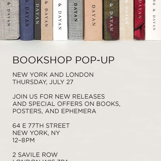SUMMER BOOKSHOP POP-UP