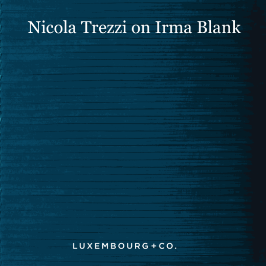 Frieze Masters Talk: Nicola Trezzi on Irma Blank