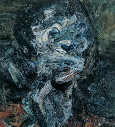 Glenn Brown, The Creeping Flesh, 1991