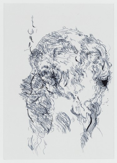 Glenn Brown, Drawing 47 (after Tiepolo), 2014