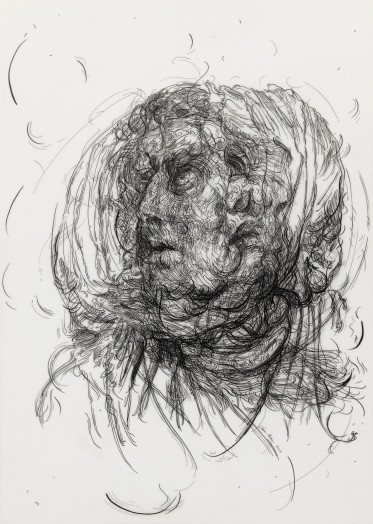 Drawing 7 (after Greuze/Greuze), 2017
