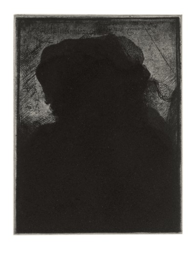Glenn Brown, Layered Portraits (after Rembrandt) 5, 2008