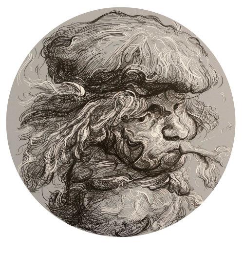 Drawing 14 (after Castiglioni), 2017