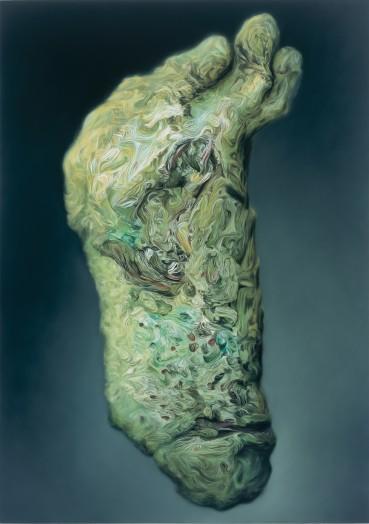 Glenn Brown, It's a Curse It's a Burden, 2001