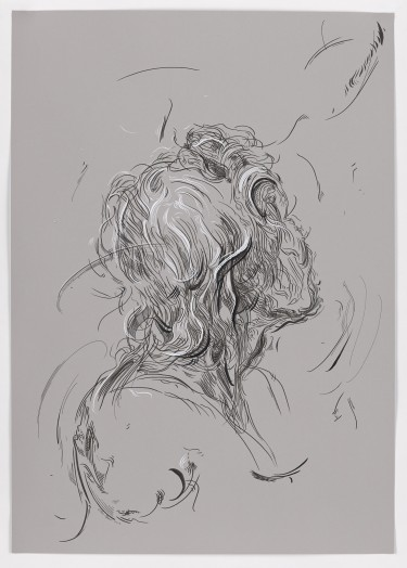 Glenn Brown, Drawing 3 (after Del Sarto), 2015