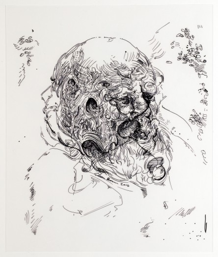 Glenn Brown, Drawing 24 (after Jordaens/Jordaens), 2014