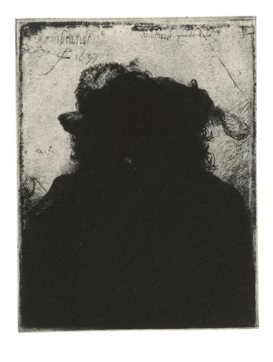Glenn Brown, Layered Portraits (after Rembrandt) 8, 2008