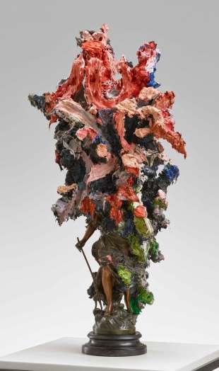 Glenn Brown, Olympus Mons, 2020
