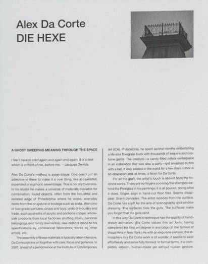 Alex da Corte: Die Hexe