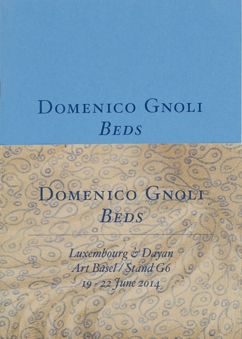Domenico Gnoli: Beds