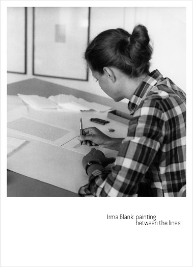 Irma Blank: painting between the lines