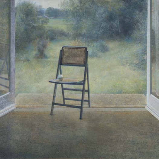 David Tindle retrospective reviewed in The Observer