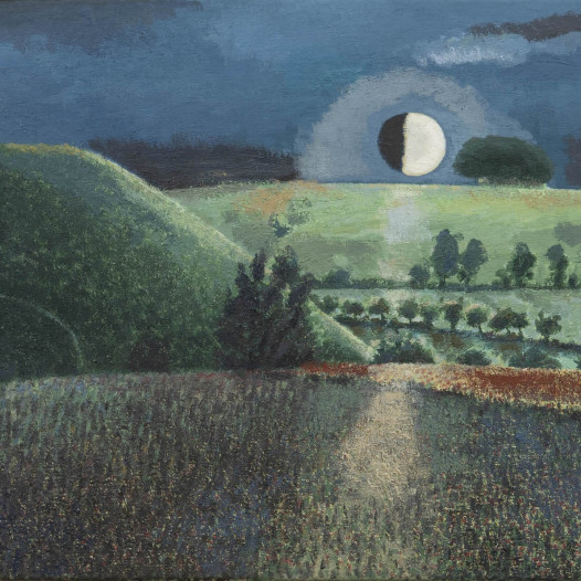 David Inshaw retrospective at the Saatchi Gallery