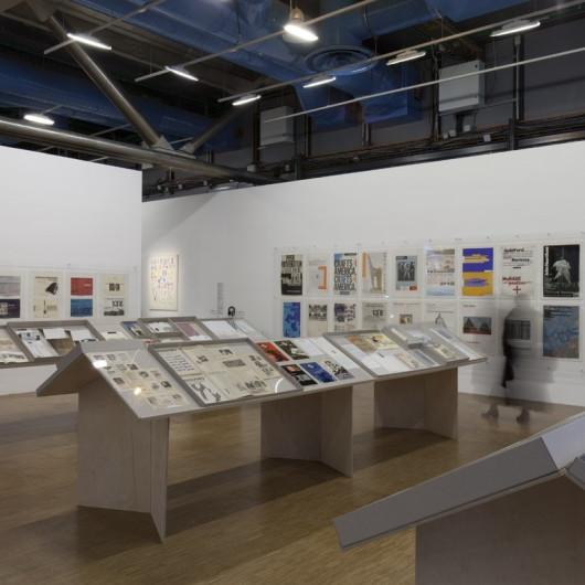Richard Hollis at the Centre Pompidou