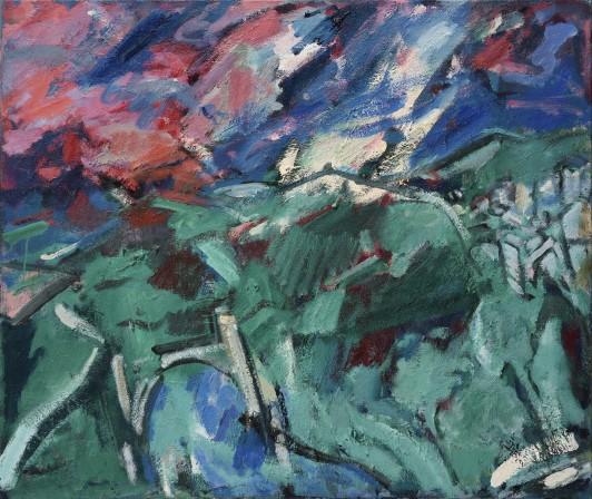Storm over Toledo (after El Greco)