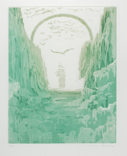 And ice, mast-high, came floating by, As green as emerald, 1976